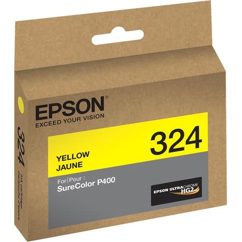 Epson UltraChrome 324 Original Ink Cartridge - Yellow