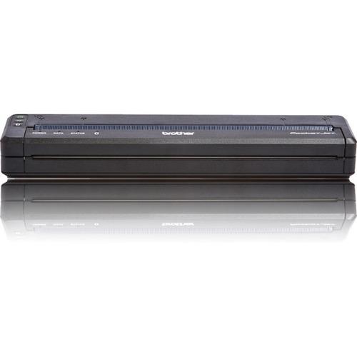 Brother PocketJet PJ763MFi Direct Thermal Printer - Monochrome - Portable - Plain Paper Print - USB - Bluetooth