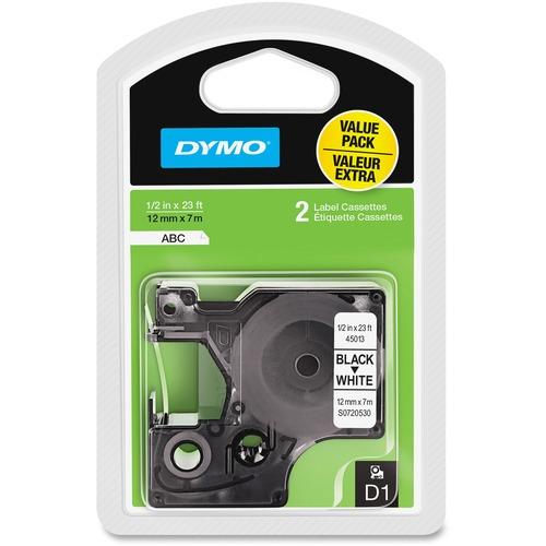 """Dymo D1 1/2"""" Tape Label Cassette"""
