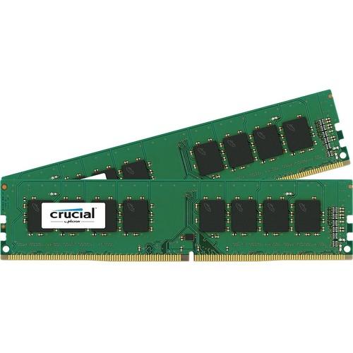 Crucial 32GB (2 x 16GB) DDR4 SDRAM Memory Kit