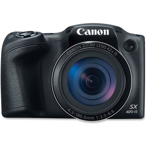 Canon PowerShot SX420 IS 20 Megapixel Compact Camera   Black 300/500