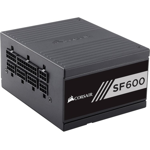 Corsair SF Series SF600   600 Watt 80 Plus Gold Certified High Performance SFX PSU 300/500