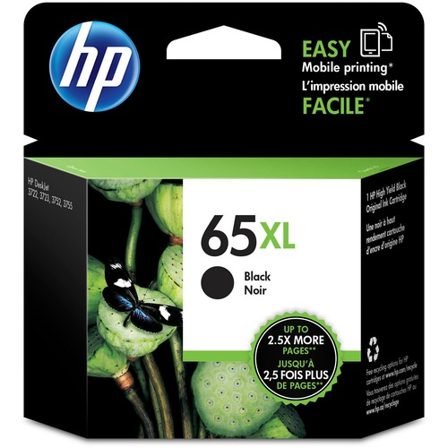 HP 65XL (N9K04AN) Original Ink Cartridge 300/500