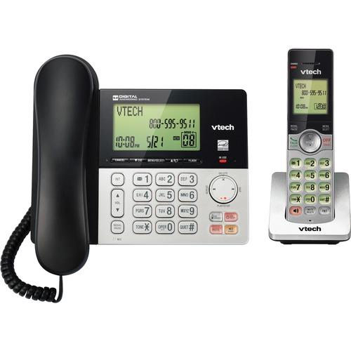 VTech CS6949 DECT 6.0 Standard Phone   Black, Silver 300/500