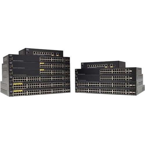 Cisco SG350-10P 10-Port Gigabit PoE Managed Switch