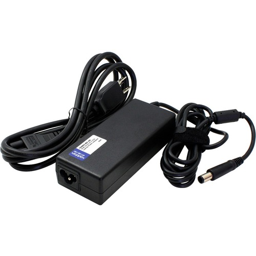 HP 742437-001 Compatible 45W 19.5V at 2.31A Black 7.4 mm x 5.0 mm Laptop Power Adapter and Cable
