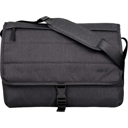 """Cocoon Tech Carrying Case (Messenger) for 16"""" Notebook - Charcoal"""