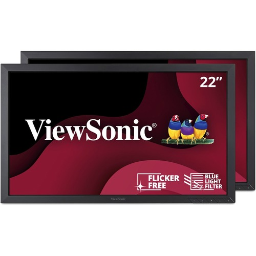 "Viewsonic Value VA2252Sm_H2 22"" Full HD LED LCD Monitor - 16:9 - Black"