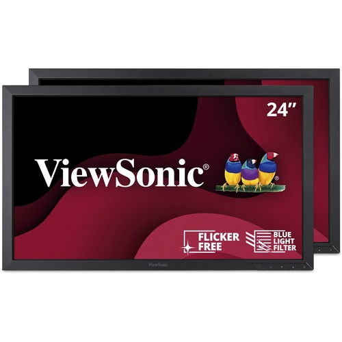 "Viewsonic VA2452Sm_H2 24"" Full HD LED LCD Monitor - 16:9"