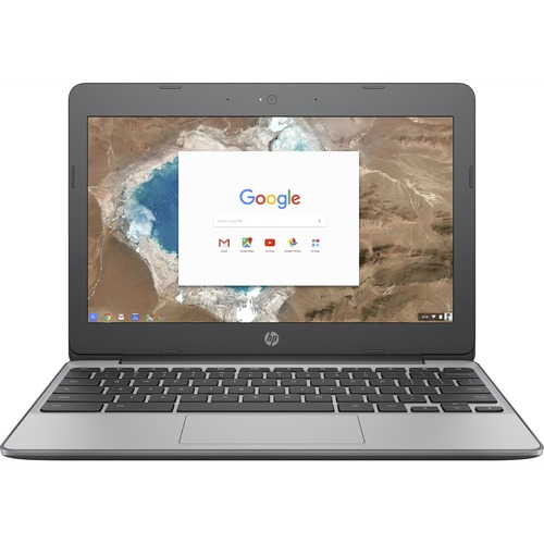 "HP 11 11.6"" Touchscreen Chromebook Intel Celeron N3060 4GB RAM 16GB eMMC - Intel Celeron N3060 Dual-core - Intel HD Graphics 400 - In-plane Switching (IPS) Technology - UWVA Corning Gorilla Glass Display - 11 hr 30 min battery life"