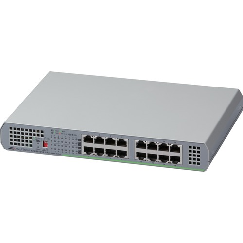 Allied Telesis 16-Port 10/100/1000T Unmanaged Switch with Internal PSU
