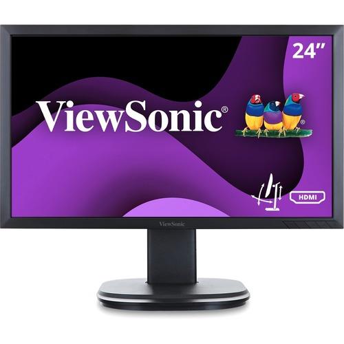 "Viewsonic VG2449 24"" Full HD LED LCD Monitor - 16:9 - Black"