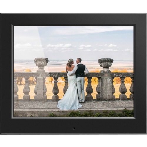 "Aluratek 8"" Slim Digital Photo Frame With Auto Slideshow Feature 300/500"