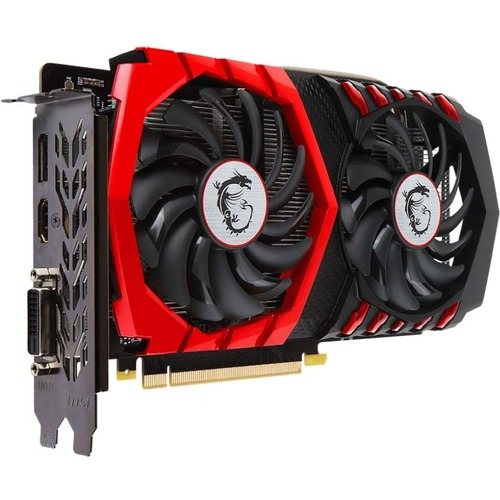 MSI Gaming X GeForce GTX 1050 Ti Graphics Card  -  4GB 128-bit GDDR5 - TORX Fan 2.0 - 1.49 GHz boost clock - NVIDIA GameWorks technology - DirectX 12 features