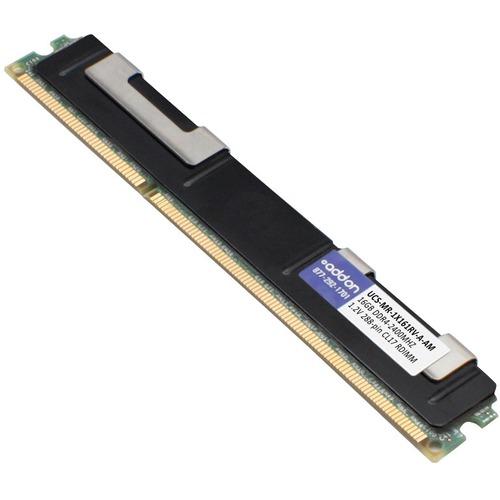 AddOn AM2400D4SR4RN/16GSH x1 Cisco UCS-MR-1X161RV-A Compatible Factory Original 16GB DDR4-2400MHz Registered ECC Single Rank x4 1.2V 288-pin CL17 RDIMM