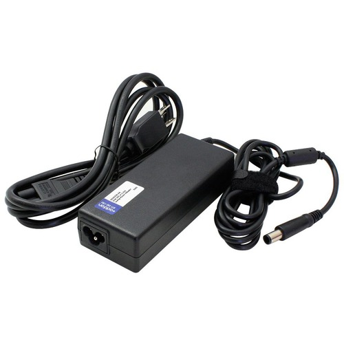 Dell LA65NS2-01 Compatible 65W 19.5V at 3.34A Black 5.0 mm x 7.4 mm Laptop Power Adapter and Cable