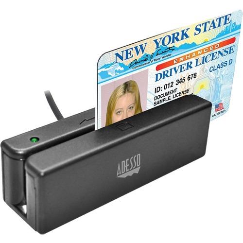 Adesso MSR 100 Magnetic Stripe Card Reader 300/500