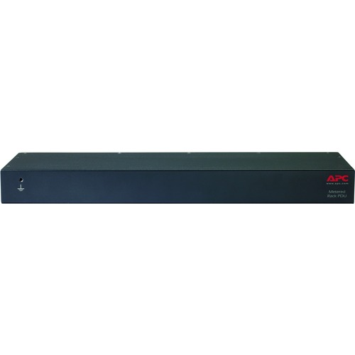 APC By Schneider Electric Rack PDU, Metered, 1U, 16A, 208/230V, (8) C13 300/500