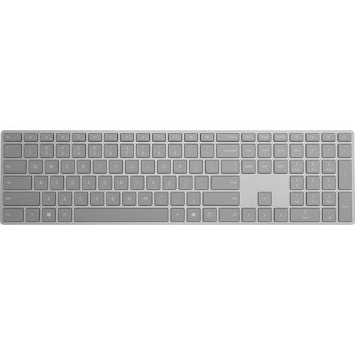 Microsoft Surface Keyboard Gray - Wireless - Bluetooth - Compatible w/ Smartphone - QWERTY Key layout - Sleek & simple design