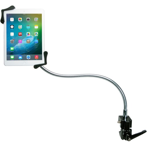CTA Digital Heavy Duty Gooseneck Clamp Stand For 7 13In Tablets 300/500
