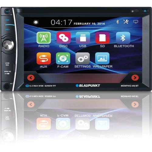 """Blaupunkt MMP440 Car DVD Player   6.2"""" Touchscreen LCD   Double DIN 300/500"""