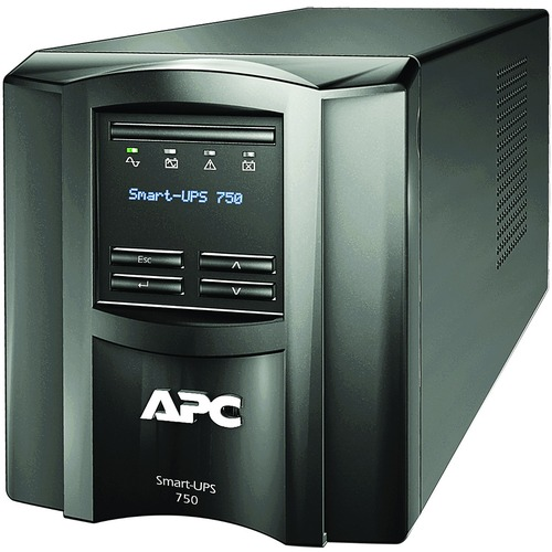 APC By Schneider Electric Smart UPS 750VA LCD 120V With SmartConnect 300/500
