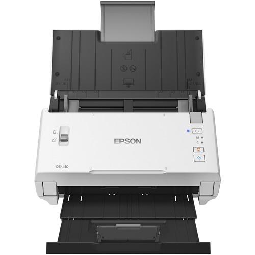 Epson DS 410 Sheetfed Scanner   600 Dpi Optical 300/500