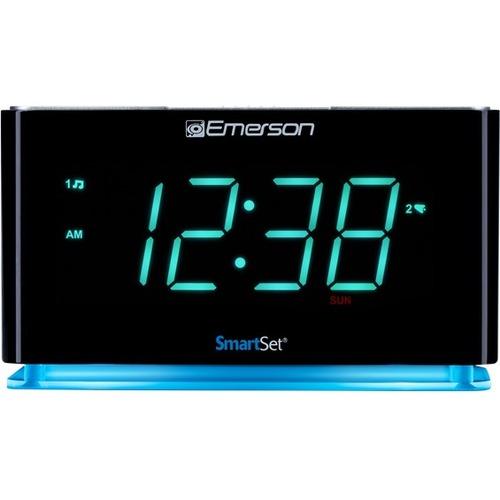 Emerson SmartSet ER100301 Desktop Clock Radio 300/500
