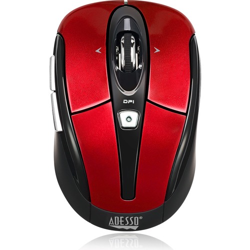 Adesso IMouse S60R   2.4 GHz Wireless Programmable Nano Mouse 300/500