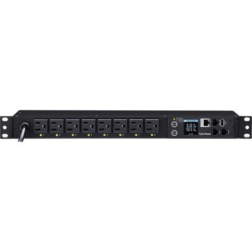 CyberPower PDU41001 8 Outlet PDU 300/500