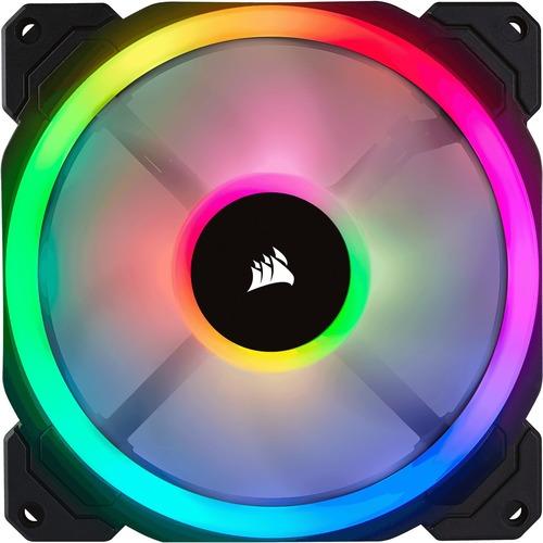 LL SERIES LL140 RGB 140MM DUAL LIGHT LOOP RGB LED PWM FAN