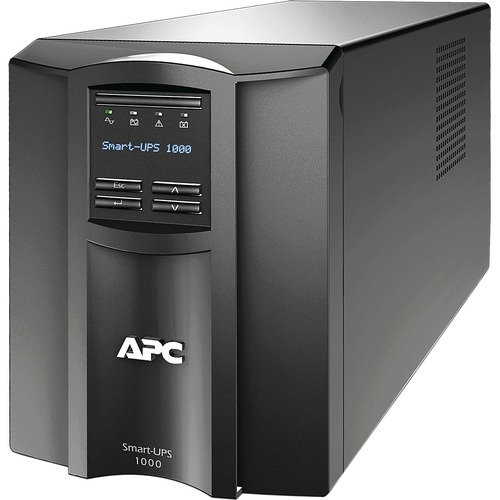 APC By Schneider Electric Smart UPS 1000VA LCD 120V With SmartConnect 300/500
