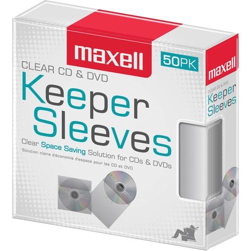 Maxell 190150 50ct Cd/DVD SLV 300/500