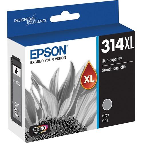 Epson Claria Photo HD T314XL Original Ink Cartridge   Gray 300/500