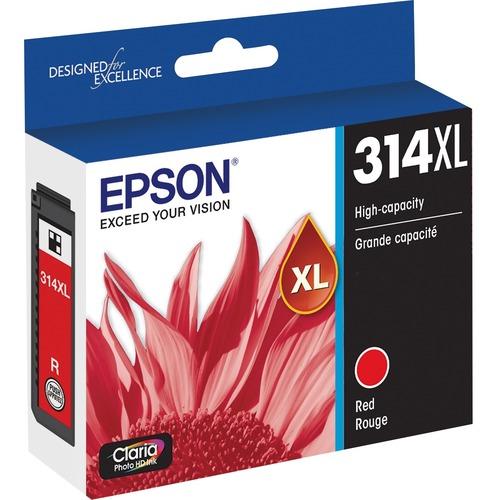 Epson Claria Photo HD T314XL Original Ink Cartridge   Red 300/500