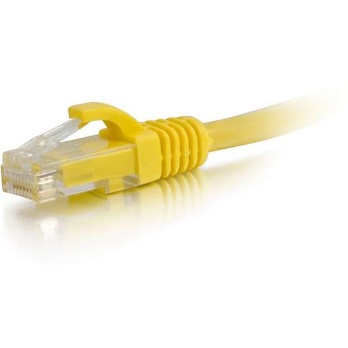 C2G 5ft Cat6 Ethernet Cable - Snagless Unshielded (UTP) - Yellow