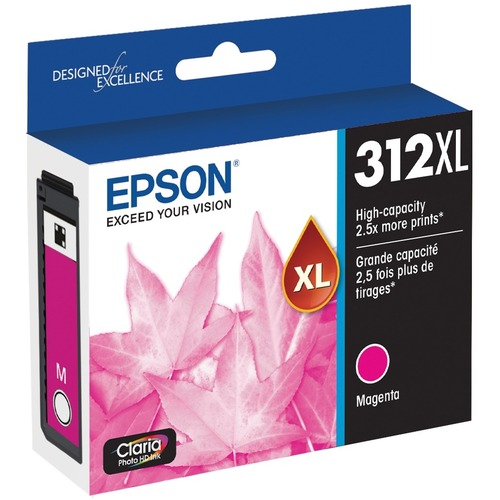 Epson Claria Photo HD T312XL Original Ink Cartridge   Magenta 300/500