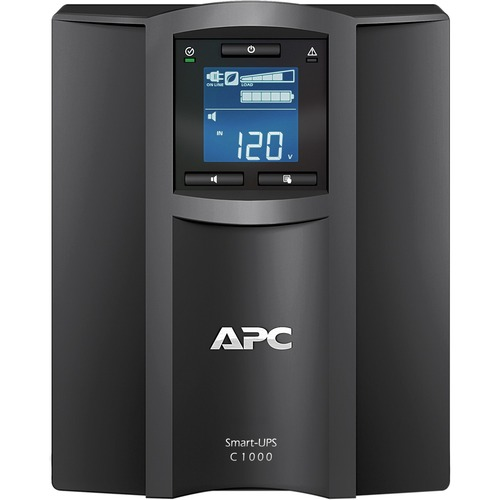 APC By Schneider Electric Smart UPS C 1000VA LCD 120V With SmartConnect 300/500