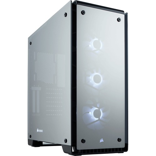 Corsair Crystal 570X RGB Mirror Black Tempered Glass, Premium ATX Mid Tower Case