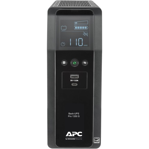 APC By Schneider Electric Back UPS Pro BR BR1350MS 1350VA Tower UPS 300/500