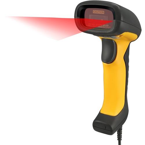 Adesso NuScan 5200TU  Antimicrobial & Waterproof 2D Barcode Scanner 300/500