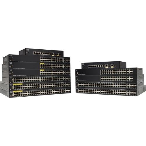 Cisco SF352-08P 8-Port 10 100 POE Managed Switch