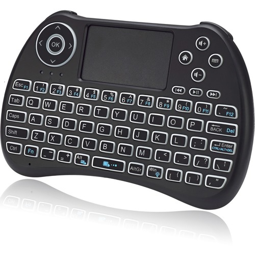 Adesso SlimTouch 4040 - Wireless Illuminated Keyboard with Built-in Touchpad