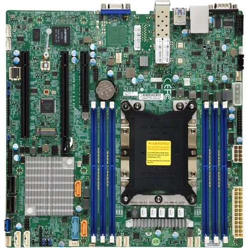 Supermicro X11SPM-TPF Server Motherboard - Intel Chipset - Socket P LGA-3647 - Micro ATX