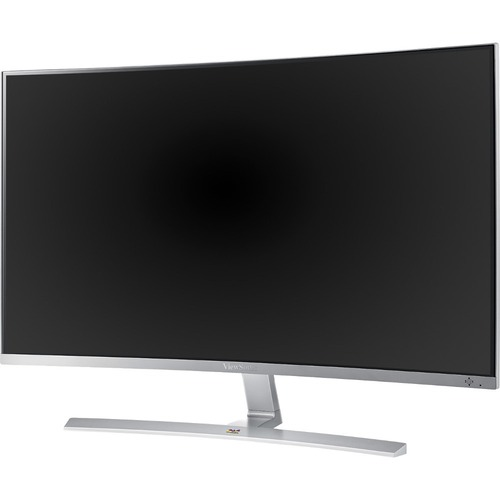 "Viewsonic VX3216-SCMH-W 31.5"" Full HD Curved Screen WLED LCD Monitor - 16:9 - Silver"