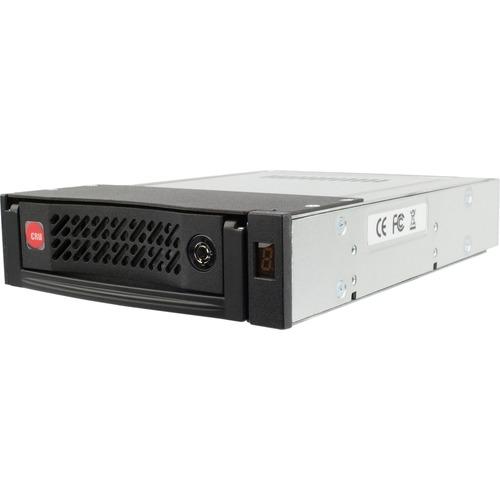 """CRU Data Express DE110 Drive Bay Adapter For 5.25"""" Internal   Black 300/500"""