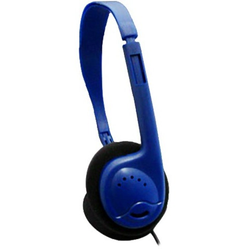 AVID AE-711 HEADPHONE WITH ADJUSTABLE HEADBAND & 3.5MM PLUG BLUE