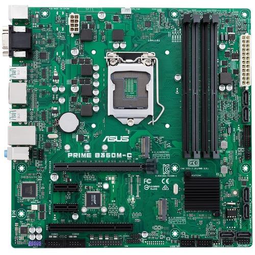Asus Prime B360M C/CSM Desktop Motherboard   Intel Chipset   Socket H4 LGA 1151 300/500