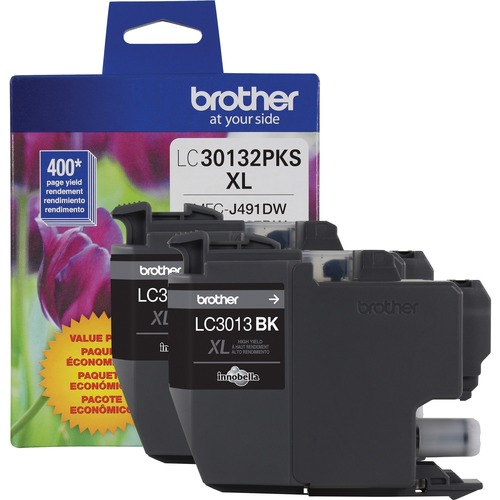Brother LC30132PKS Original Ink Cartridge   Black 300/500