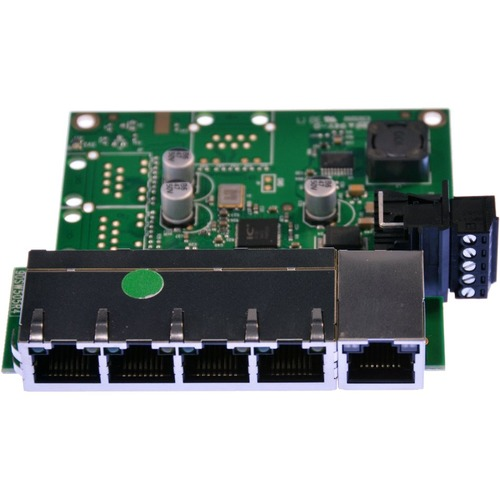 Brainboxes Industrial Embeddable 5 Port Ethernet Switch 300/500